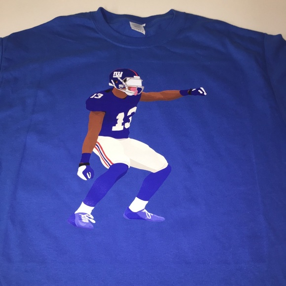 b97dd4e06 New York Giants Odell Beckham Jr Shirt